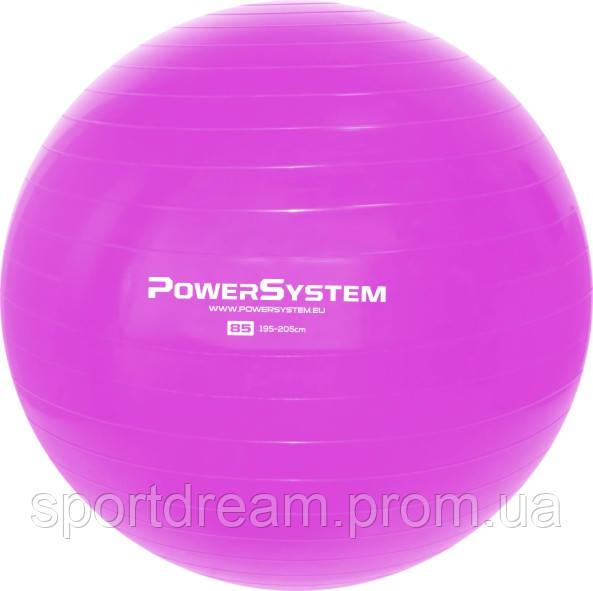 Мяч для фитнеса и гимнастики POWER SYSTEM PS-4018 85 cm Pink