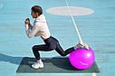 Мяч для фитнеса и гимнастики POWER SYSTEM PS-4018 85 cm Pink, фото 3