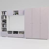 Комплект підліткової мебелі Х-Скаут-20 рожевий мат