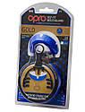 Капа OPRO Gold Series Blue/Pearl (art.002193002), фото 5