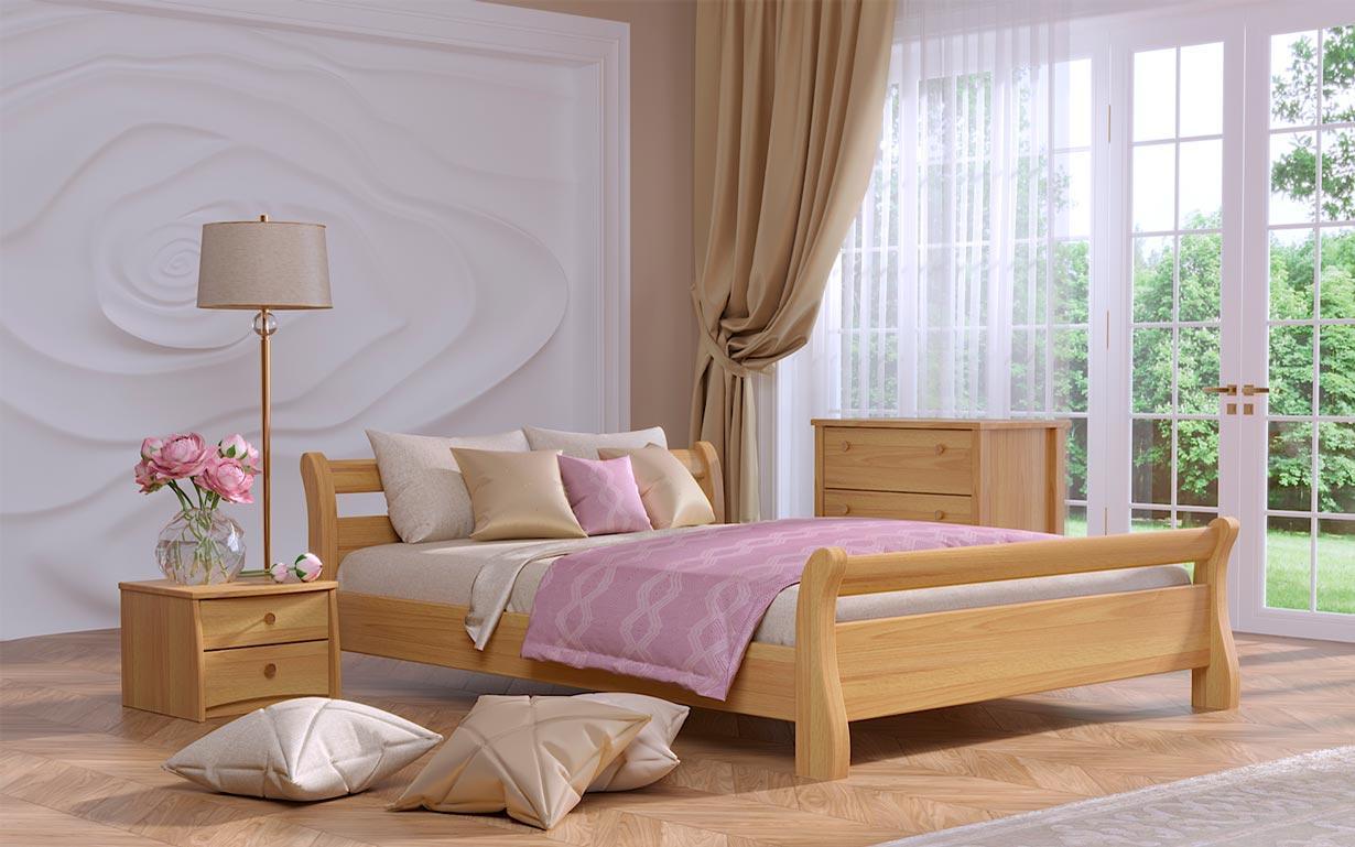 ✅ Дерев'яне ліжко Діана 80х190 см ТМ Естелла