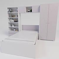 Комплект підліткової мебелі Х-Скаут-21 рожевий мат