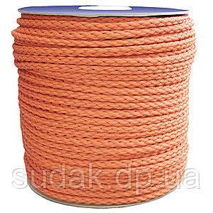 Верёвка нетонущая, 12мм, 100м, оранжевая 80212