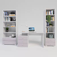 Комплект підліткової мебелі Х-Скаут-22 рожевий мат