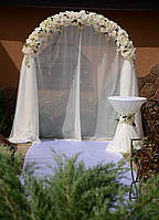 Цветочная арка для выездной церемонии