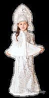 Детский карнавальный костюм Снегурочки Код 162
