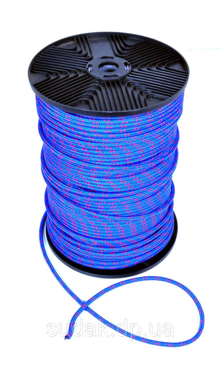 Веревка полипропилен, 6мм, 200м синяя 85106