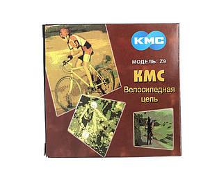Цепь KMC Z9 Grey для 9 скоростных трансмиссий велосипеда