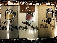 """Набор полотенец Varol для кухни 40*70 """"Coffee 101"""" 3-ка"""
