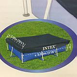 Тент для прямоугольных бассейнов Intex 28038, фото 2