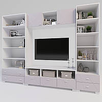 Комплект подростковой мебели  Х-Скаут-24 розовый мат