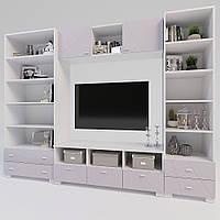 Комплект дитячих меблів Х-Скаут-24 рожевий мат