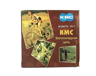 Цепь KMC Z8.3 Grey для 8 скоростных трансмиссий велосипеда