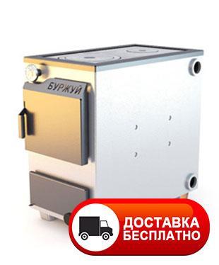 """Твердотопливный котел """"Буржуй КП-18"""" с плитой на две конфорки 4 мм"""