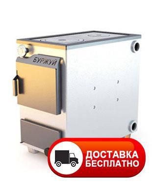 """Твердотопливный котел """"Буржуй КП-18"""" с плитой на две конфорки 4 мм, фото 2"""