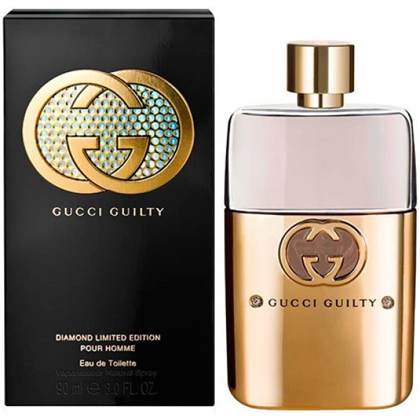Gucci Guilty Pour Homme Diamond Limited Edition туалетная вода 90 Ml