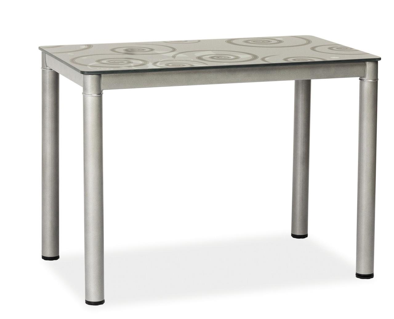 Стол обеденный Signal Мебель Damar 100 x 60 см Серый (DAMARSZ)