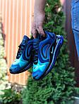 Мужские кроссовки Nike Air Max 720 (сине-голубые) 9750, фото 2