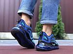 Мужские кроссовки Nike Air Max 720 (сине-голубые) 9750, фото 3