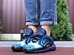 Мужские кроссовки Nike Air Max 720 (сине-голубые) 9750, фото 4