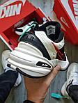 Мужские кроссовки Nike Air Monarch IV Black&White (черно-белые) 490TP, фото 5