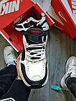 Мужские кроссовки Nike Air Monarch IV Black&White (черно-белые) 490TP, фото 6