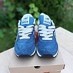 Женские кроссовки New Balance 574 (синие) 20197, фото 5