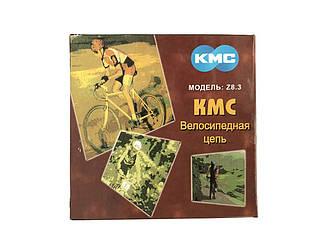 Цепь KMC Z8.3 Silver для 8 скоростных трансмиссий велосипеда