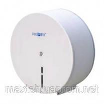 Держатель для туалетной бумаги в больших рулонах до 300 м. белыйДержатель для туалетной бумаги в больших рулон
