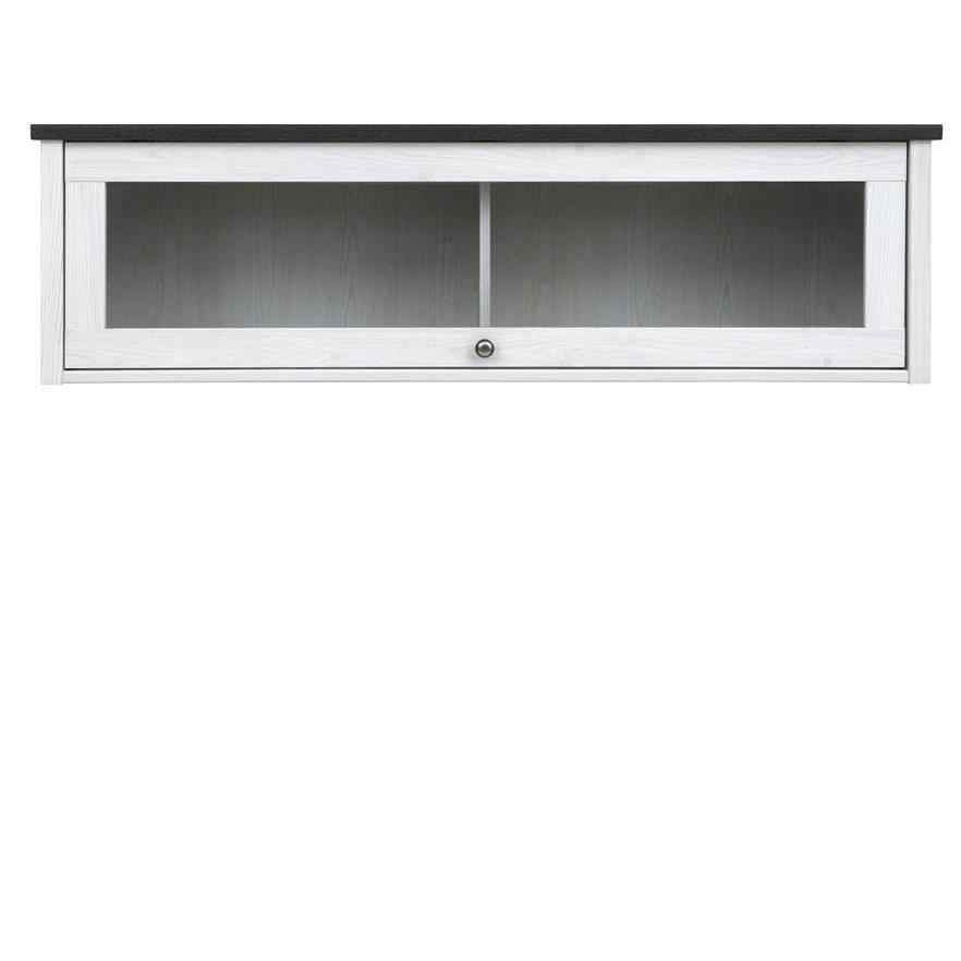Полка-витрина Home-UA Brw Порто SFW1W 37 см Джанни / Сосна ларик (8003804)