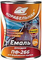 Эмаль Polycolor ПФ-266 0,9 кг красно-коричневая  BELLINI