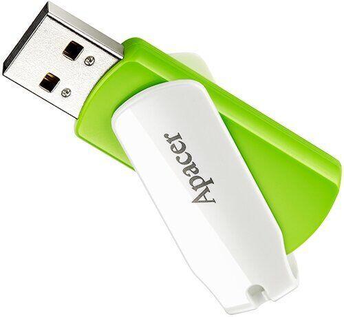 Флеш пам`ять Apacer AH335 32GB Green/White