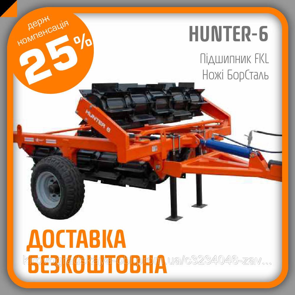 Каток-подрібнювач КЗКФ-6 HUNTER