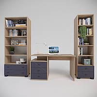 Комплект мебелі для вітальні Х-Скаут-17 графіт мат