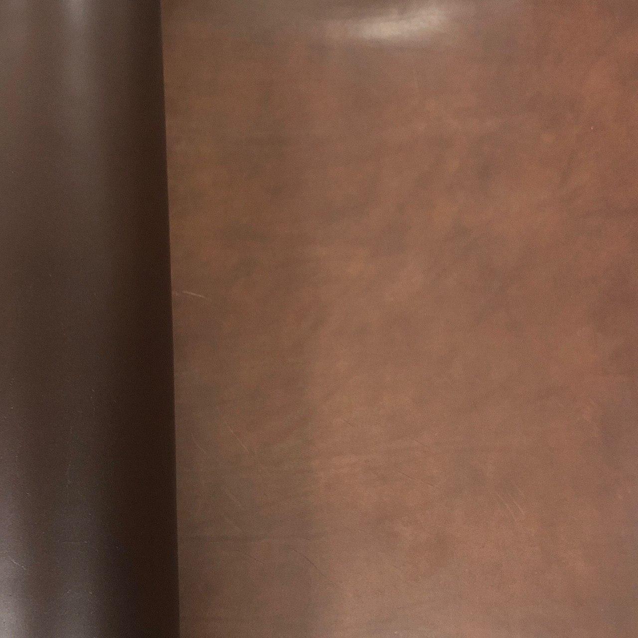 Кожа растительного дубления 2.5mm вороток темно-коричневый ROCK  (TM) ITALY