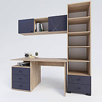 Комплект мебелі для кабінету Х-Скаут-18 графіт мат