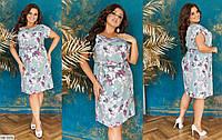 Платье женское летнее большие размеры Г05211, фото 1