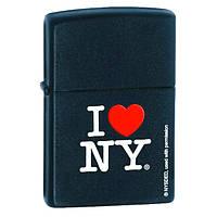Zippo 24798 I LOVE NY black matte