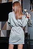 1628/7 Стильное женское платье, фото 9