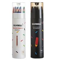 Карандаши Xiaomi BravoKids Color Pencils (24 цвета) (простые+водные)