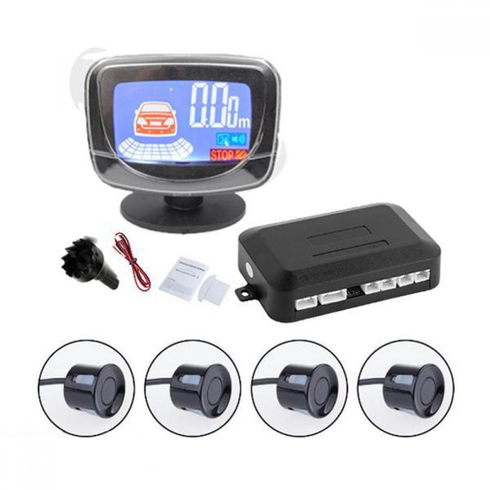 Парктроник iDial D065/4 - LCD черный