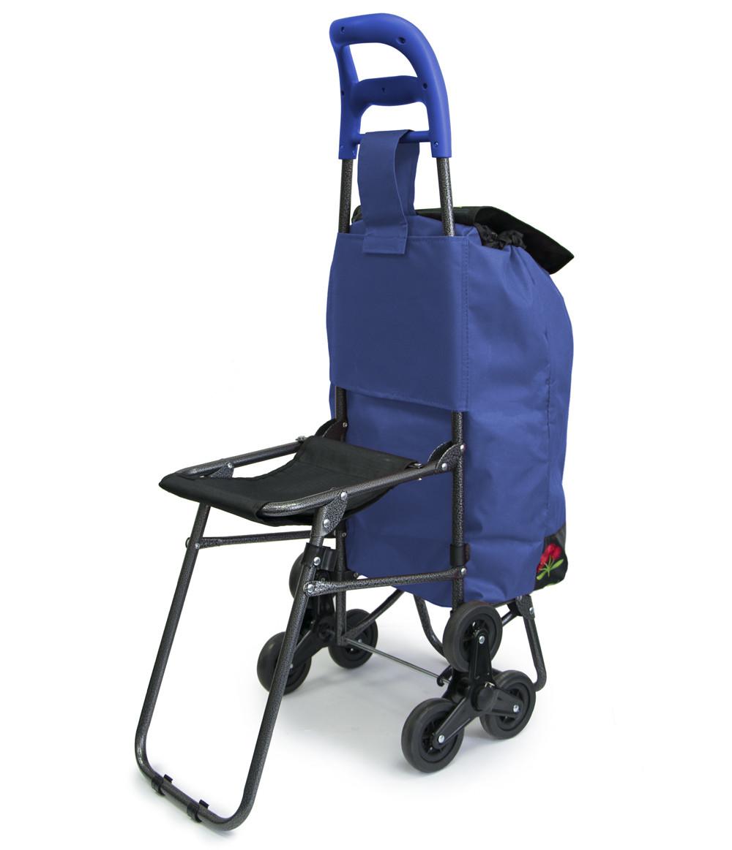 Кравчучка на колесиках, для продуктов - тележка хозяйственная, ручная Цвет №20 тачка для ступеней (TS)