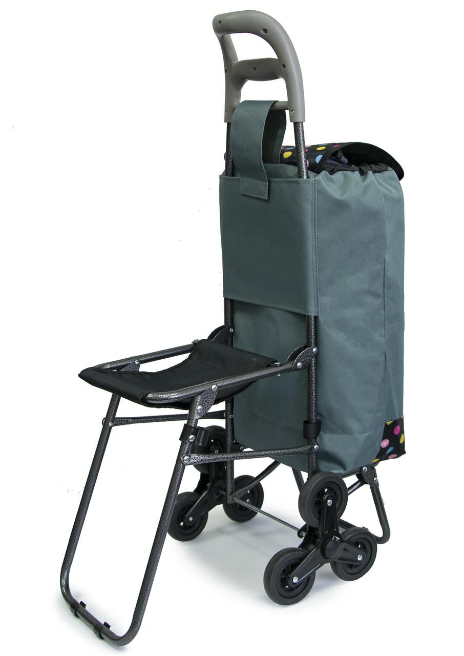Візок для продуктів   господарська, ручний візок на коліщатках, Колір №25 кравчучка для ступенів