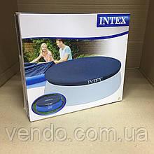 Тент круглый для надувных бассейнов Intex 28020