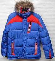 Зимняя куртка для мальчика 10-14 лет QIQI Kids голубая