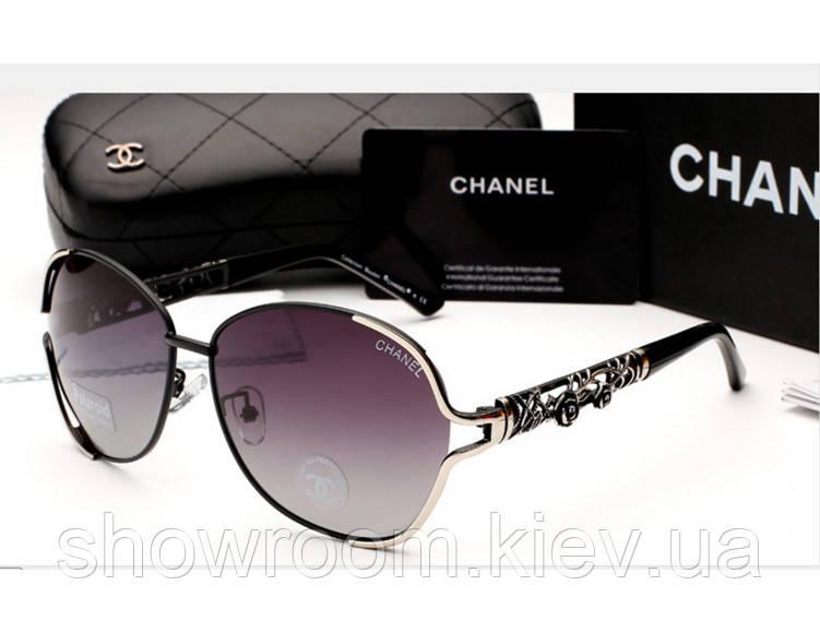 Женские брендовые очки от солнца 6108 (black)