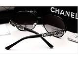 Женские брендовые очки от солнца 6108 (black), фото 3