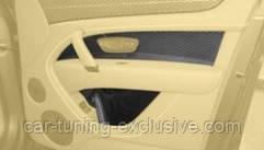 MANSORY carbon doors panels for Bentley Bentayga