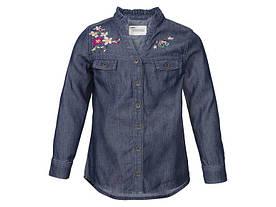 Рубашка джинсовая для девочки Lupilu by CHEROKEE (Германия) р.98, 116см