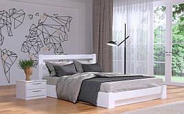 ✅ Дерев'яне ліжко Селена з механізмом 120х190 см ТМ Естелла